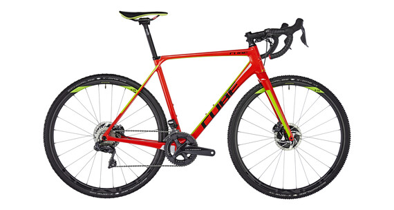 Cube Cross Race C:62 SLT Red'n'Green